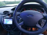 Ford Focus MK1 1998-2004 Car DVD USB Player Head Unit Radio Stereo Fascia Kit KT