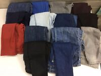 Bag of jeans for sell - new, old etc. 14 pairs