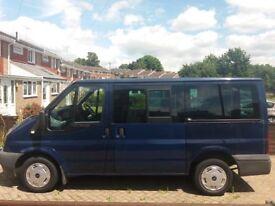 Ford Transit 2.0 TDCi Tourneo Bus 5dr (9 Seat) Minibus **12 MONTHS MOT**