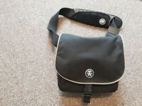 Crumpler Camera bag black with strap - nearly new