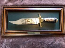 Decorative knife for decoration only