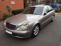 2004 MERCEDES S CLASS S320 CDI **FULLY LOADED ** CHEAP CAR ** WELL LOOKED AFTER **