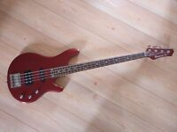 Ibanez RD300 bass guitar with case