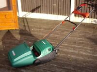 QUALCAST CONCORDE 32 CYLINDER LAWNMOWER IN IMMACULATE CONDITION .