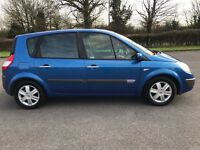 RENAULT SCENIC DYNAMIQUE - 2005 - 5 DOOR - CAMBELT CHANGED - PX OFFERED