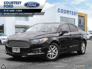 2016 Ford Fusion SE REMOTE START l NAVIGATION l LEATHER SEATS