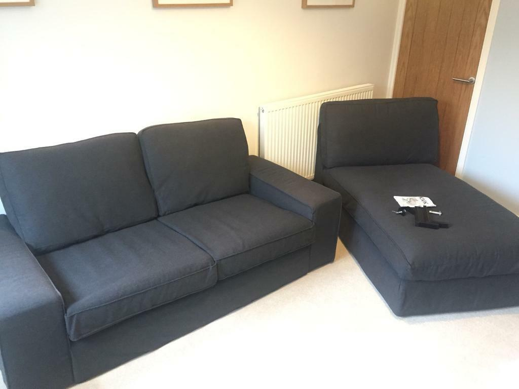 Ikea Kivik 2 Seater Sofa And Chaise Longue In Romsey