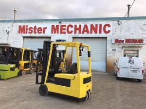 ELECTRIC FORKLIFTS - YALE - HYSTER - CAT - TOYOTA - TCM - 3000LBS - 5000LBS CAPACITY
