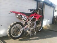 Honda CRF250x 2008 with 280cc kit. Great Green Laner / Enduro Bike / Mx Bike