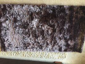 Brand new rug - mink