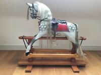 Traditional Large Wooden Traditional Rocking Horse, made by MerryLegs, Oakhall, Cornhill-on-Tweed.