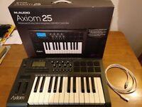 M-Audio Axiom 25 (2nd Gen) MIDI keyboard - Mint