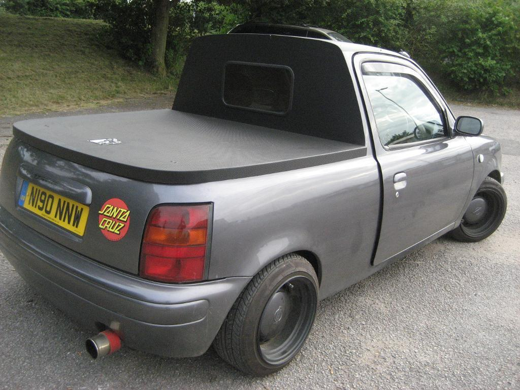 Nissan Micra Pick Up Modified Unique One Off In