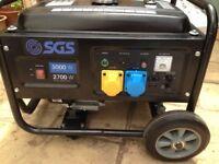 Petrol generator 3000w