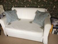 White double sofa bed IKEA