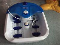 Massage foot bath