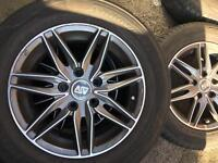 MSW by OZ RACING , 15inch 5x112 4xalloys+tyres