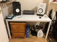 Desk - Ikea Melltrop White