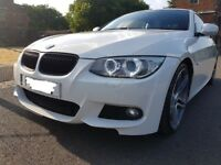 BMW 320d M Sport Red leather with pro Sat Nav