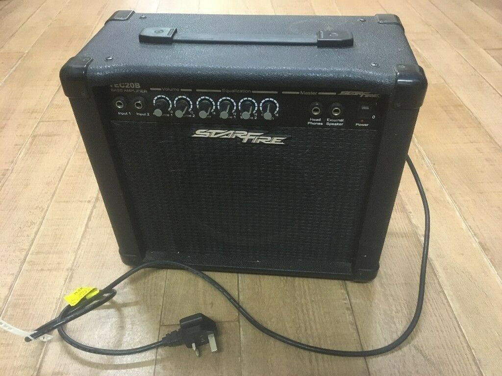 starfire tec20b bass guitar amplifier in colchester essex gumtree. Black Bedroom Furniture Sets. Home Design Ideas