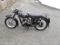 VINTAGE AND CLASSIC MOTORCYCLES WANTED