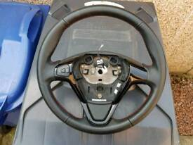 Ford Fiesta Mk7 Zetec S Steering wheel