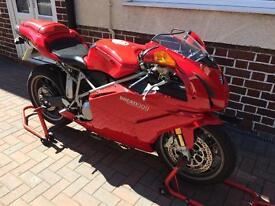 Ducati 999 biposto motorcycle