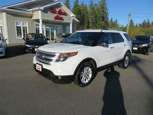 2013 Ford Explorer XLT 4X4, 3RD ROW, HTD SEATS!