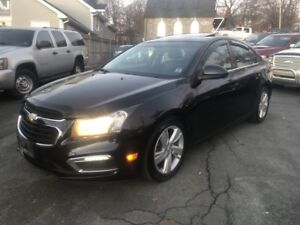 2015 Chevrolet Cruze DIESEL Turbo Diesel, Automatic, Leather