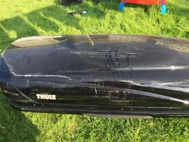 Thule black 800 Roofbox SOLD