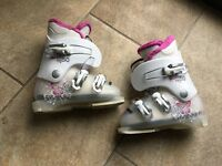 Lange starlet girls ski boots 17.5-18 suitable age 4-5 approx