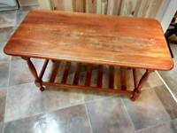 A Solid Wooden Attractive Coffee table