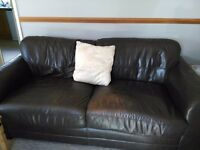 FREE leather settees