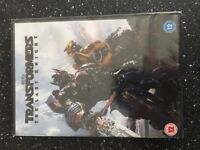 Transformers The Last Knight DVD brand new in wrapper