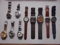 Selection of watches - Diesel, Next etc