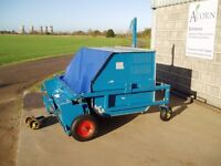 Used tractor mounted 1.5m Agar sweeper/collector
