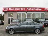 2008 Audi A6 S-LINE-PREMIUM PLUS-NAVI-CAMERA-SENSORS-1 OWNER-CD