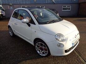Fiat 500 Sport SEMI-AUTO LOW MILES Finance can be arranged! Warranty Included