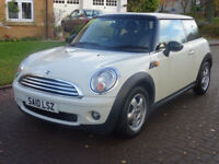 MINI HATCH COOPER 1.6 COOPER 3d AUTO 122 BHP MOT AUGUST 2018 ++ SERVICE RECORD +