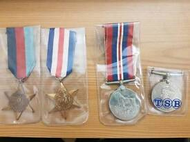 British Campaign War Medals