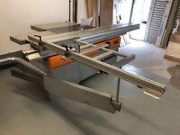 sliding table panel saw folder K500S