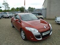 2010 Renault Megane 1.5 dCi Dynamique 2dr (Tom Tom) / 3 Month RAC Warranty Included