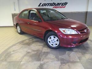 2005 Honda Civic SE/88000KM/5 vit