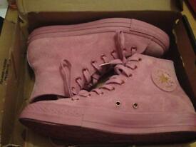 Converse Suede Pink