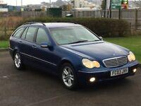 2003 Mercedes C180 Kompressor Auto Elegance SE Auto *New MOT*FSH*
