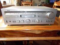 Akai (AA-R20) Stereo Receiver (Vintage) (1980) (You-tube)