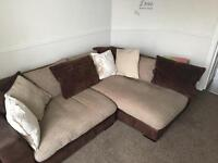 Large corner sofa - free for quick removal