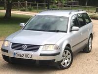 Volkswagen Passat 1,9 diesel sport estate 6 speed