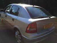 2002 Astra 1.6 sxi