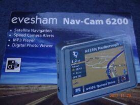 Sat Nav. Eversham new unused